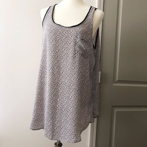 Loft by Ann Taylor Sleeveless Top Size Large